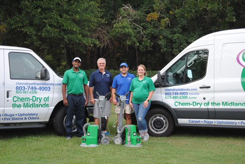 Chem-Dry of the Midlands team